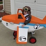 Photo #3 - Dusty Crophopper tricycle-mounted airplane costume - 3