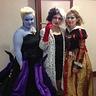 Photo #3 - Ursula, Cruella and the Queen of Hearts