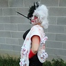 Photo #7 - The real evil side of Cruella Devill with shawl of dalmations