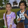Photo #2 -  Ryan Veronick and Betty as Flynn Rider and Rapunzel from Disney Tangled