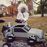 Photo #8 - Doc Brown and his DeLorean