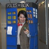 Photo #1 - Doctor Who in the TARDIS