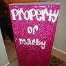 Photo #4 - Back of the box 'Property of Marby'