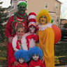 Photo #3 - Grinch, Star Bellied Sneetch, Cat in the Hat (scary one!), Cindy Lou Who, and Thing 1 & Thing 2!