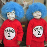 Photo #5 - Thing 1 and Thing 2--Their 1st Halloween in the USA! What Great Sports!