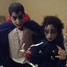 Photo #2 - Dracula and Edward Scissorhands