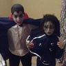 Photo #3 - Dracula and Edward Scissorhands