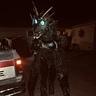 Photo #1 - Dragonzilla stalking the night