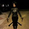 Photo #2 - The shadows of Edward's scissorhands were perfect!