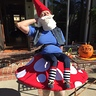 Photo #4 - Elias the Gnome Rests on a Mushroom