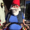 Photo #5 - Elias the Gnome Rests on a Mushroom