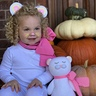 Photo #2 - When she found out there were more dress up days before Halloween.