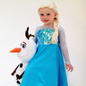 Photo #1 - Home made Elsa costume