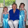 Photo #3 - Grandma with her Elsa princesses.