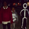 Photo #3 - Skeleton, fat albert, email & stick person