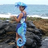 Photo #2 - At the beach on a windy, Hawai'ian Halloween day