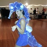 Photo #3 - Dancing on Halloween night, complete with LED lighted eyes and along the seahorsesspine