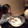 Photo #5 - Making the paper mache