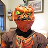 Photo #2 - The Evil Pumpkin without the scarecrow hood