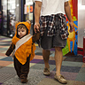 Photo #2 - Ewok Toddler hunting for candy!