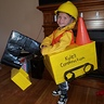 Photo #1 - DIY Excavator costume