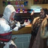 Photo #2 - Medieval times bad guy gives up.