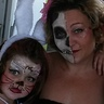 Photo #1 - Face Painting with a haunting twist :)
