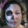 Photo #5 - Face Painting with a Haunting Twist