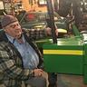 Photo #3 - Grandpa building tractor