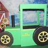 Photo #2 - Tractor made from Foamboard
