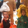 Photo #6 - Here she is trick or treating with her cousin (my daughter).