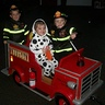 Photo #2 - Firetruck with Firemen and Dalmation