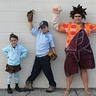 Photo #3 - I am in the middle of my two best friends, Wreck it Ralph and Vanellope Von Schweets