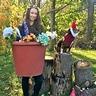 Photo #4 - Flower Pot & Gnome
