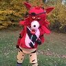Photo #1 - Foxy the pirate from five nights at freddys on halloween