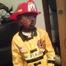 Photo #2 - Zontario as the firefighter