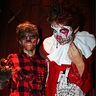 Photo #2 - Wolf boy and creepy clown