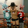 Photo #1 - Freddy Fazbear, Toy Bonnie and Foxy the Pirate