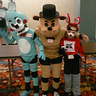 Photo #2 - Freddy Fazbear, Toy Bonnie and Foxy the Pirate