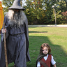 Photo #1 - Gandalf and Frodo on a walk in the shire