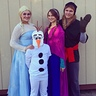 Photo #1 - Elsa, Anna, Olaf, Kristoff