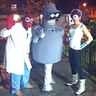 Photo #2 - Futurama Bender and Crew