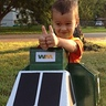 Photo #10 - Happy Garbage Man Costume- two thumbs up!
