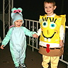 Photo #2 - Here's Benjamin, Sponge Bob, again... seen with little brother, Aleck... as Gary the Snail