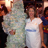 Photo #1 - Geico Money Man and Flo from Progressive