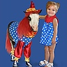 Photo #7 - Tiny Horses in Halloween costumes