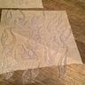 Photo #3 - Hot glue on parchment paper