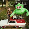 Photo #1 - Ghostbuster Livi with Slimer and the Ecto-1