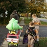 Photo #10 - Trick or treating with Slimer and the Ecto-1..we brought a radio and played the Ghostbusters theme song throughout our town!