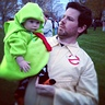 Photo #2 - Slimer and Daddy Ghostbuster